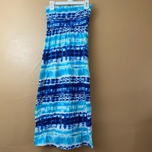 Speechless Tie Dyed Maxi Skirt Size M Z-15